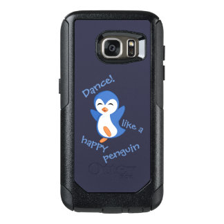 Dance Like a Happy Penguin OtterBox Samsung Galaxy S7 Case