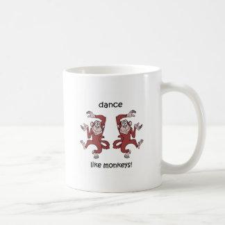 Dance like monkeys! coffee mugs