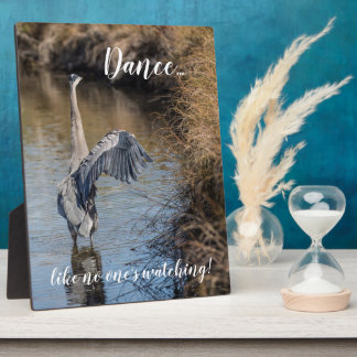 Dance Like No One's Watching 8x10 Easel Placque Plaque