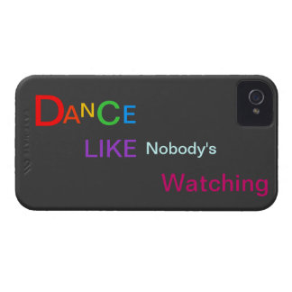 Dance Like Nobody's watching iPhone 4 Case-Mate Cases