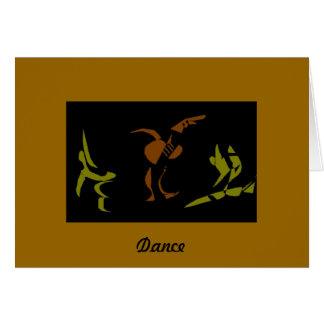 Dance Like there's No Tomorrow Card