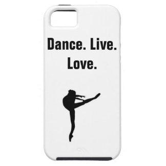 Dance, Live, Love- Phone Case