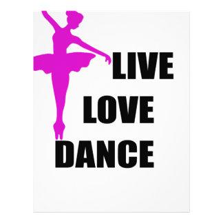dance love live letterhead