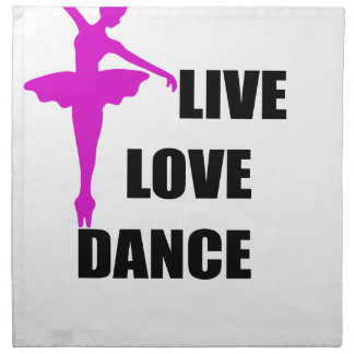 dance love live napkin