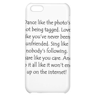 Dance Love Sing Share iPhone 5C Case