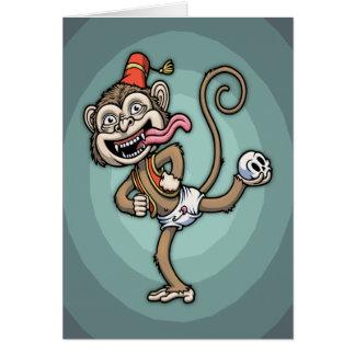 Dance, Monkey! Card