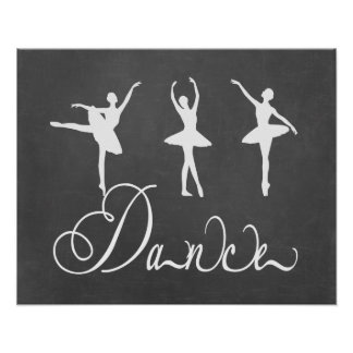 Dance Motivational Ballet Poster