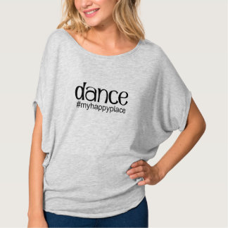 Dance #myhappyplace - Heather Gray T-Shirt