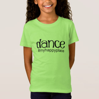Dance #myhappyplace - Lime T-Shirt