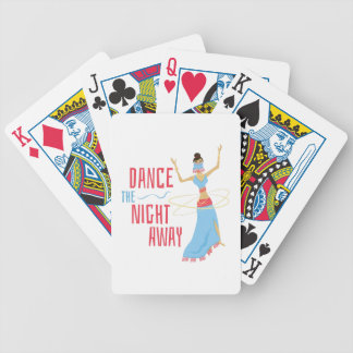 Dance Night Away Bicycle Playing Cards