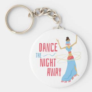 Dance Night Away Keychain