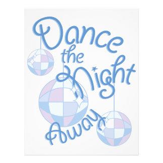 Dance Night Away Letterhead