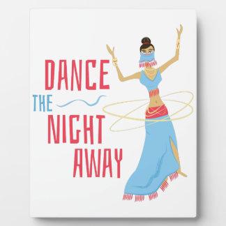 Dance Night Away Plaque