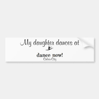 Dance Now Bumper Sticker