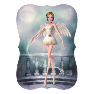 Dance of an Angel Invite (customizable)