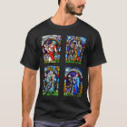 Dance of Death Stained Glass T-Shirt
