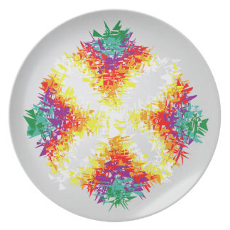 Dance of Food Party Plate