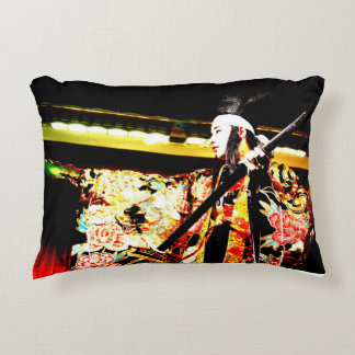 Dance of kagura of the Japanese of Hiroshima Decorative Pillow