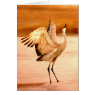 Dance of the Crane Card