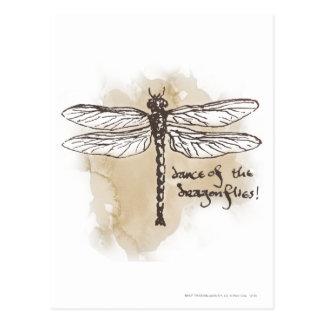 Dance of the Dragonflies Postcard