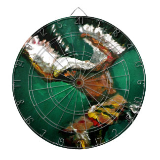Dance of the Eagle Dart Board