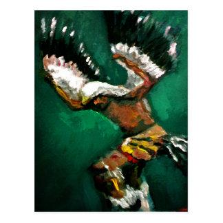 Dance of the Eagle Postcard