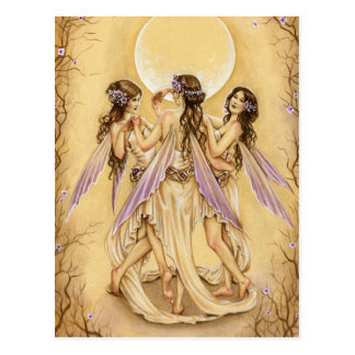 Dance of the Graces Postcard