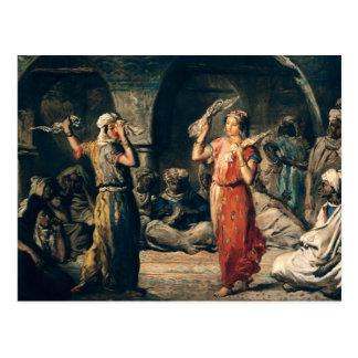 Dance of the Handkerchiefs, 1849 Postcard