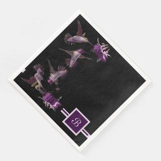 Dance of the Hummingbird Paper Napkin