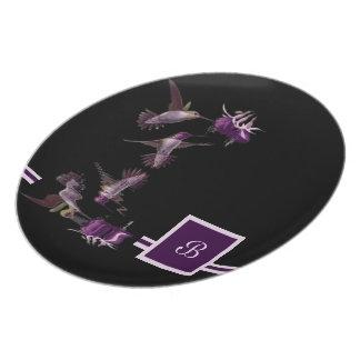 Dance of the Hummingbird Plate