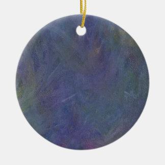 Dance of the Midnight Faeries Round Ceramic Ornament