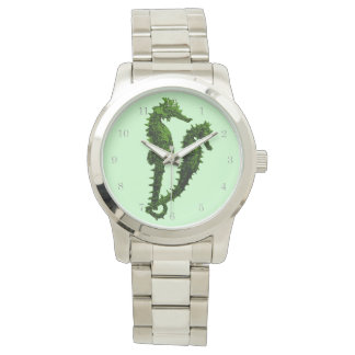 Dance Of The Seahorses (Green) Watches