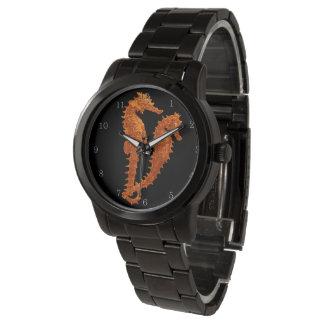 Dance Of The Seahorses (Orange) Wristwatches