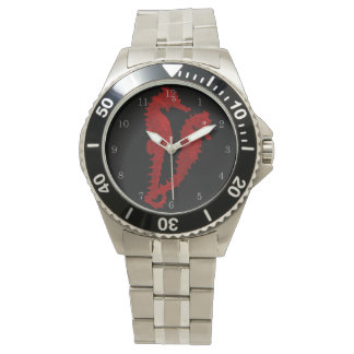 Dance Of The Seahorses (Red) Watches