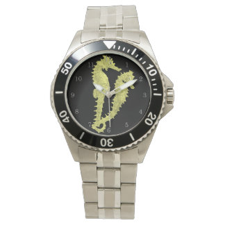 Dance Of The Seahorses (Yellow) Wristwatches