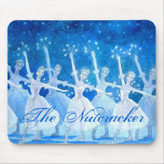 Dance of the Snowflakes Mousepad