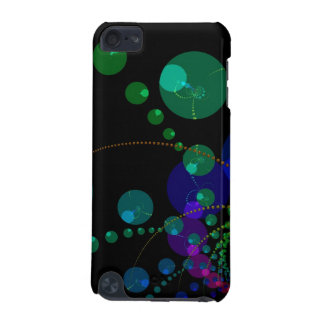 Dance of the Spheres II – Cosmic Violet Teal iPod Touch 5G Cover