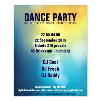 Dance Party Flyer No.1
