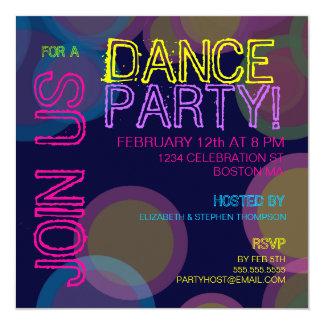 Dance Party! Invitation