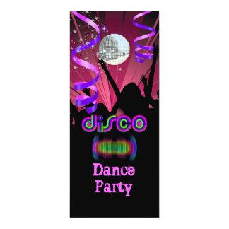 Dance Party Mirror Ball Disco  2 Card