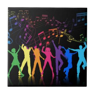 dance party tile