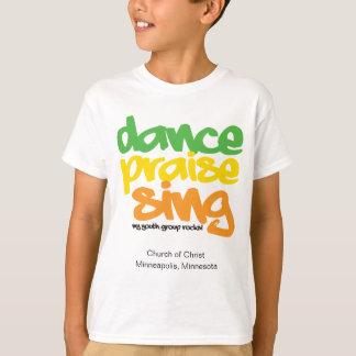 Dance Praise Sing Youth Group Peronsonalized Shirt