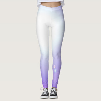 Dance Purple Leggings Fashion Workout Sports