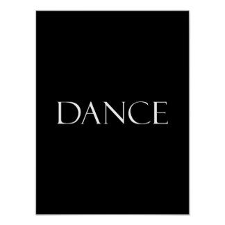 Dance Quotes Inspirational Dancing Quote Poster