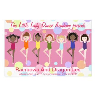 Dance Recital Program Full Colour Flyer