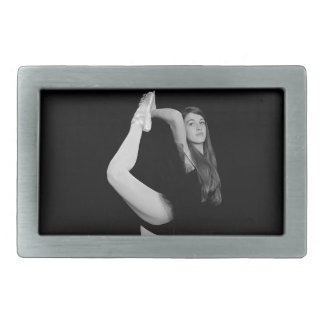 dance rectangular belt buckles