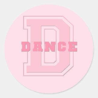 Dance Round Sticker