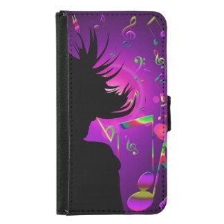 dance samsung galaxy s5 wallet case
