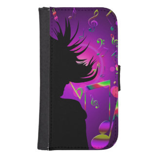 dance samsung s4 wallet case