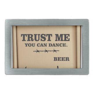 dance says beer belt buckles